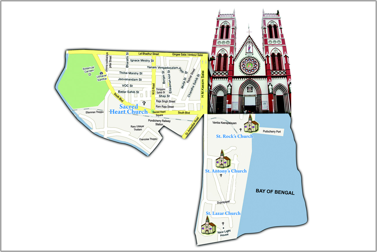 Sacred Heart Basilica, Puducherry